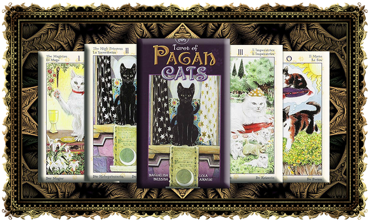 Таро Языческих кошек (Tarot of Pagan Cats)
