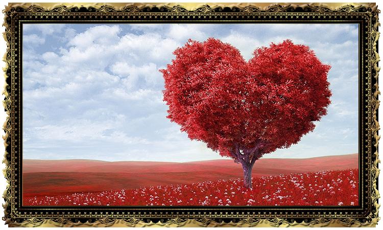 """Гадание на картах Таро любовь """"Дерево влюбленных"""""""